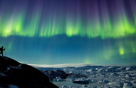 北极之秋:格陵兰冰川极光体验之旅